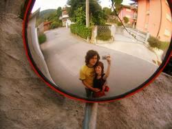 Bild vom Spiegelbild