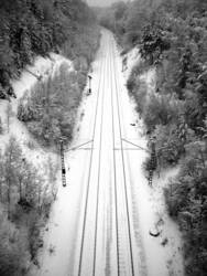 Wintergleisbett