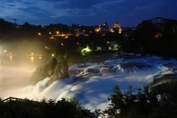 Sicht auf den Wasserfall