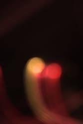 gelb-rotes Licht