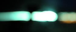 Türkisfarbenes Licht