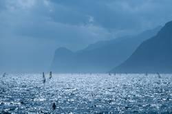 Blaue Lagune am Gardasee