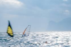 Windsurfer in Torbole, Gardasee 02