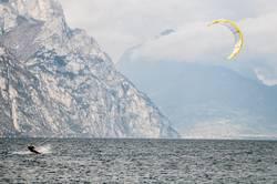 Kitesurfer, Gardasee