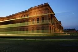 Louvre rasant
