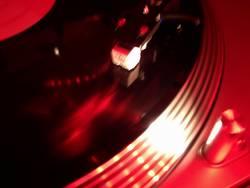 vinyl in progress