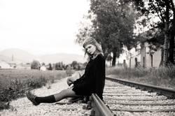 Wann kommt der Zug der mich fortbringt..?