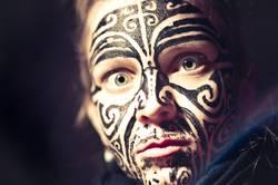 Maorimädchen