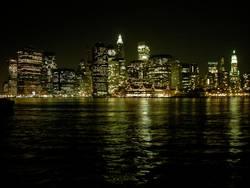 Manhattan bei Nacht #1