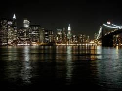 Manhattan bei Nacht #2