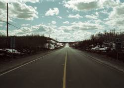 Highway in Kanada