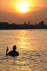 Summer in the City II - Kölsch im...äh am Rhein