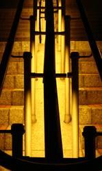 Geländer am Kölner Dom