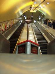 Turnpike Lane Escalator