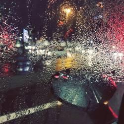 Raining day.