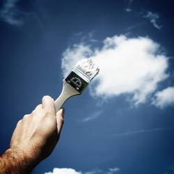 Wolken malen (2)