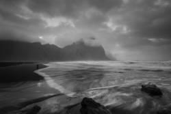 Stokksnes Lavastrand und Vestrahorn, Island