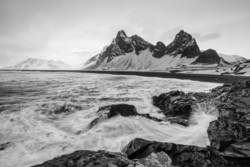 Island im Winter