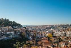 Miradouro da Graça, Lissabon, Portugal