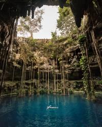 Cenote, Yucatan
