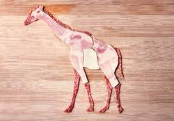 Wurstfreund. Gabi Giraffe.