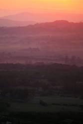 Provence im Nebel II