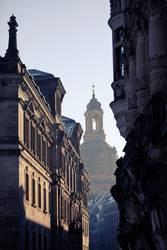 Dresden's Gassen.