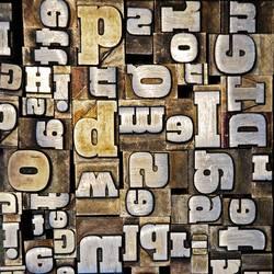 Buchstabensalat.