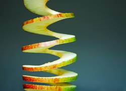 Apfelstrudel.