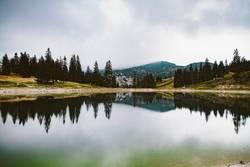 Dark Mountain Pond
