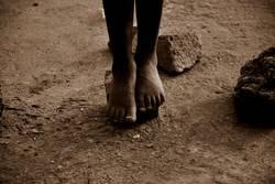 Kinderfüße/Ruanda