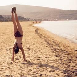 Sandhand - Strandstand.