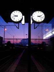 Train Station Clock