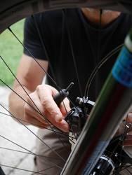 Fahrrad aufbauen 2