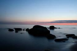Ostsee bei Abend