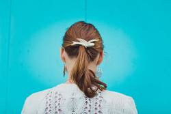 girl ponytail hair