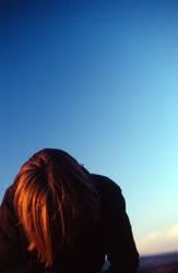 ...und die Sonne streifte durch ihr Haar...