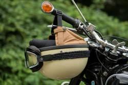 Motorradhelm, Retro