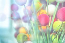 Abstract background of decorative balls