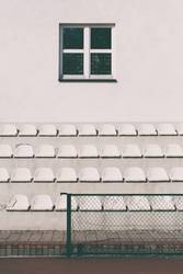 A number of seats at the school stadium