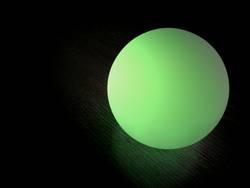Leuchtkugel in grün