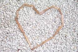 wood heart