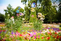 Sommer-Sonne-Seifenblasen