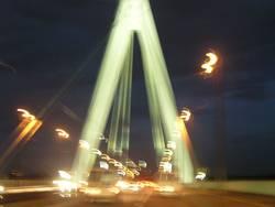 Die Brücke in Bewegung