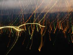 Lichterregen