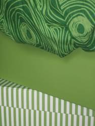 gestapeltes Grün