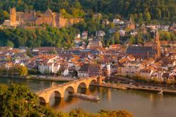 The romantic city of Heidelberg