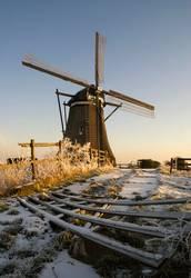 Achtkante mill near Streefkerk
