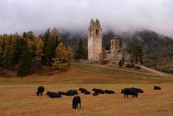 San Gian church near Celerina