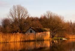 Ammersche Boezem near Groot-Ammers
